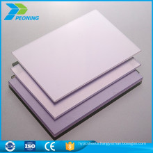 Wholesale cheap hot-sale 10mm plastic poly carbonate prismatic sheet