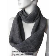 Кашемир шерстяной круглый шарф