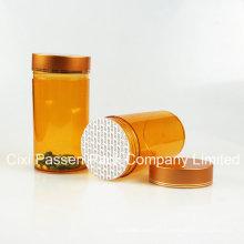 Amber Pet Medicine Bottle for Capsule Packaging (PPC-PETM-024)