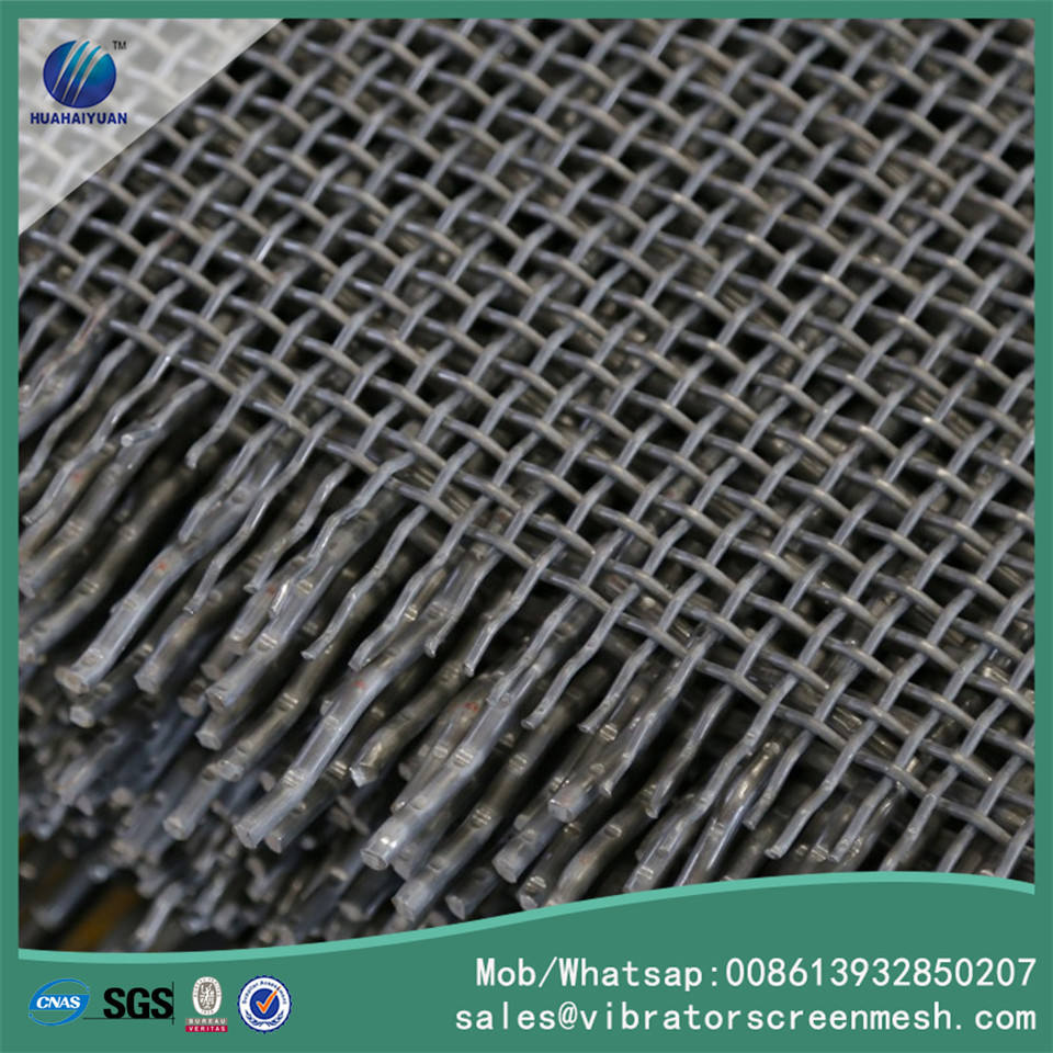Flat Panel Spring Steel Wire Mesh
