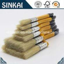 Pennello puro di seta pennello con manico in legno