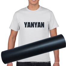 High Quality Easyweed Elasticity HTV Black Matte PU Heat Transfer Vinyl For Design Clothing