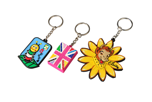 Custom Cartoon Metal Key Ring For Fans