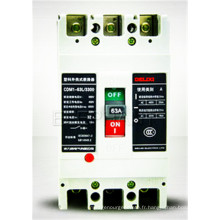 Disjoncteur moulé de cas électrique d'installation électrique de 4 pôles de 400A 3 Polonais