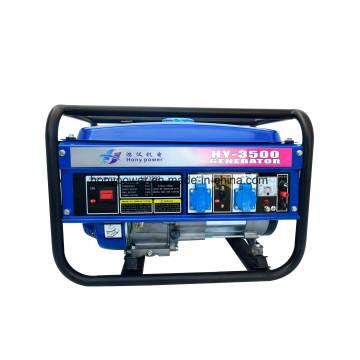 Hot Sale 100% Copper Wire 3.2 / 4.0 / 5.0 / 6.0kw Gerador de gasolina elétrica portátil Alternador de gasolina