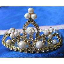 Crstal tiara comb (GWST12-118)