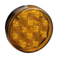 E4 Amber Round LED Truck Trailer Tail Lamps