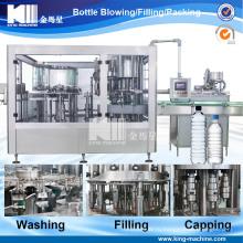 Автоматические 3 в 1 линии воды заполняя / разливая по бутылкам оборудование