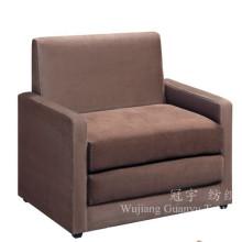 Tecido de camurça decorativo de couro para capas de sofá