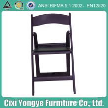 Фиолетовый мягкий стул Складчатости Смолаы для событий