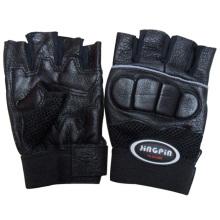 Männer echtes Leder Boxtraining Handschuhe (YKY5022)