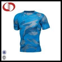 Neue Mode Design Printing Männer Sport Fitness und Gym Shirts