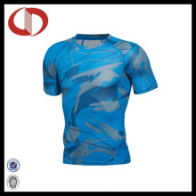 New Fashion Design Printing Men Sports Fitness and Gym Shirts