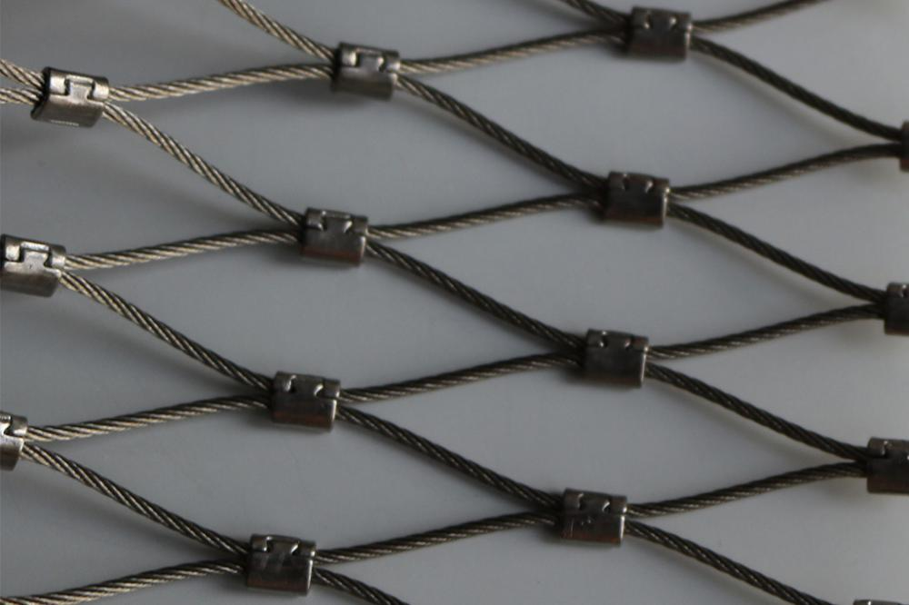 Knotless Flexible X-Tend Stainless Steel Cable Mesh