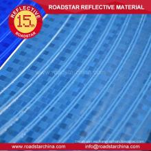 Visible en la noche de PVC reflectante rueda adhesivo
