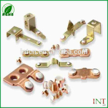 electrical components bimetal rivets for switch