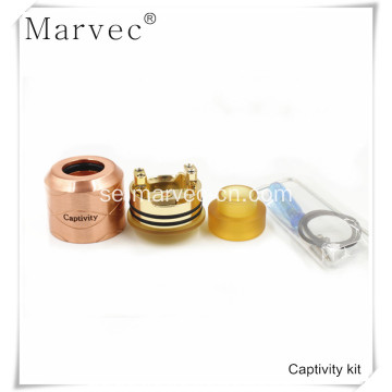 Marvec Captivity koppar material elektroniska cigarett kit