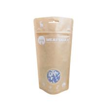 Envases biodegradables para bocadillos, chips para perros, golosinas