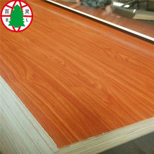 Blockboard pine core and sanderswood veneer