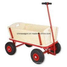Kids Wooden Wagon