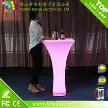 Table à barres lumineuses LED RGB (BCR-871T)