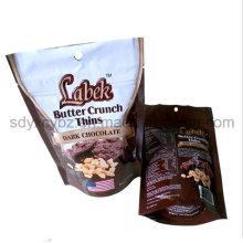 China Lieferant und Größe angepasst Snack laminierte Kunststoff-Verpackung Tasche