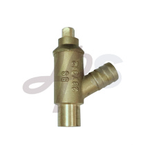 válvulas de caldeira de latão