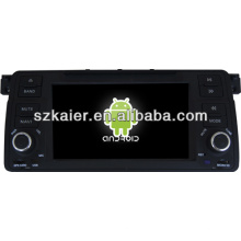 Android System car dvd player for BMW E46 with GPS,Bluetooth,3G,ipod,Games,Dual Zone,Steering Wheel Control