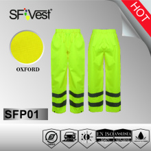 high visibility reflective workwear pants