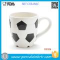 Wholesale Football Shape Ceramic Coffee Cup
