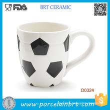 Wholesale Football Shape Ceramic Coffee Cup
