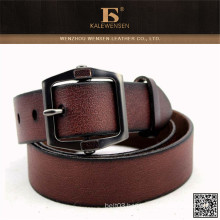 Newest used aks New arrival OEM cowhide genuine men's belt