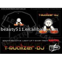 моды DJ / свет футболка E004