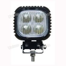 5 polegadas 40W praça LED Tractor Trabalho luzes
