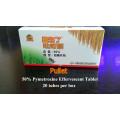 Pullet - Tableta efervescente de pimetermina de 50%