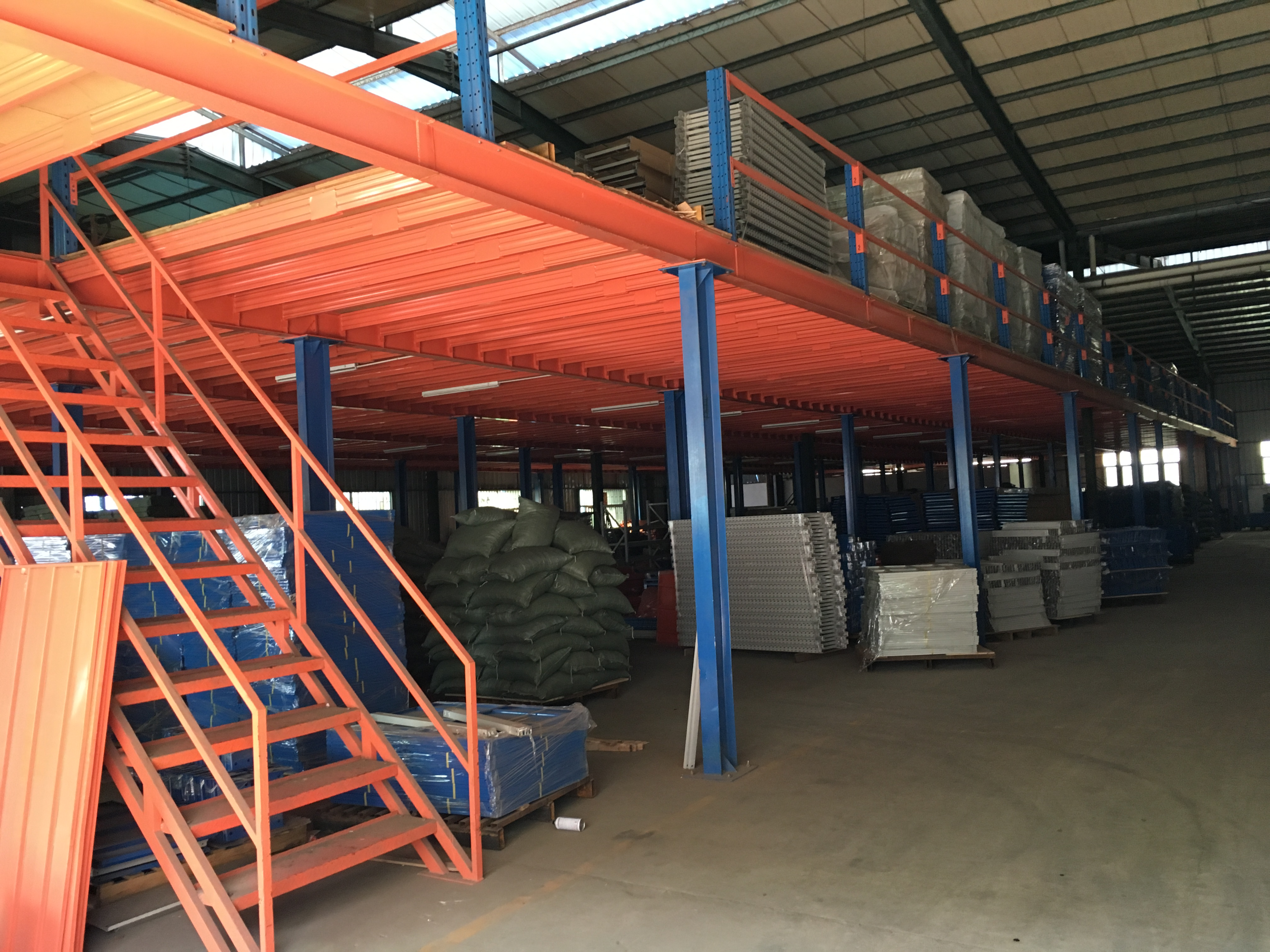 3 Meters High Heavy Duty Steel Floors