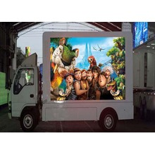 Outdoor Waterproof Mobile LED Screen Truck LED Display