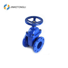 Ductile Iron By Pass Gate Valve With Gear Wheel or Motor Operated Soft Seat
