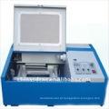 JK-40 laser máquina de gravura de selo