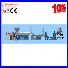 Waste plastic PE PS ABS PP PC DEKE Granulator Pelleting Machine