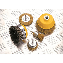 Power Tools Accessories Crimped Wire Cup Brush Hand Tools OEM
