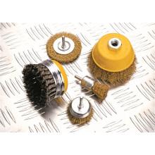 Acessórios de ferramentas de poder frisado fio Copa escova mão ferramentas OEM