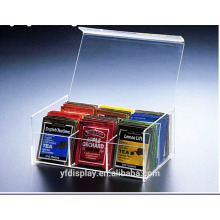 Custom-made Acrylic Tea Bag Box