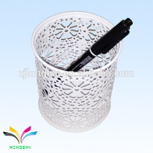 newest design white colorful multi purpose diy bulk pen holder school office