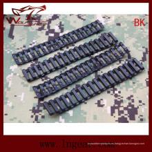 Militar extendida a longitud escala carril Protector tapa carril táctico