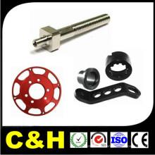 Pieza de maquinaria de la construcción / piezas de la máquina del torno de las piezas del CNC de las piezas del CNC de la pieza / del CNC