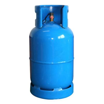Bouteille de gaz GPL & réservoir d'essence en acier (12.5kga)