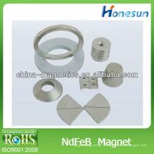 N35 neodímio motor permanente de anel / ímãs de magnetização