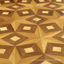 Oak wood parquet dance floor