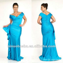 Plus Size Body Hugging Formal Evening Dress 2012